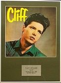 CLIFF RICHARD  - Framed LP Cover - 'CLIFF'